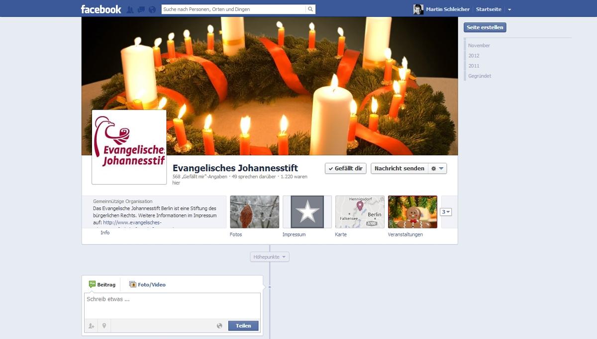 Weihnachtsaktion des Evangelischen Johannesstifts