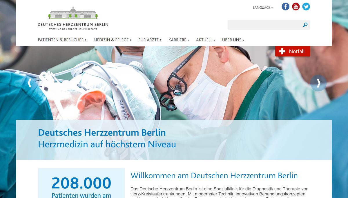 Platz 1: Deutsches Herzzentrum Berlin