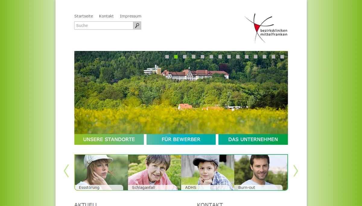 2. Platz: Bezirkskliniken Mittelfranken (542 Stimmen)