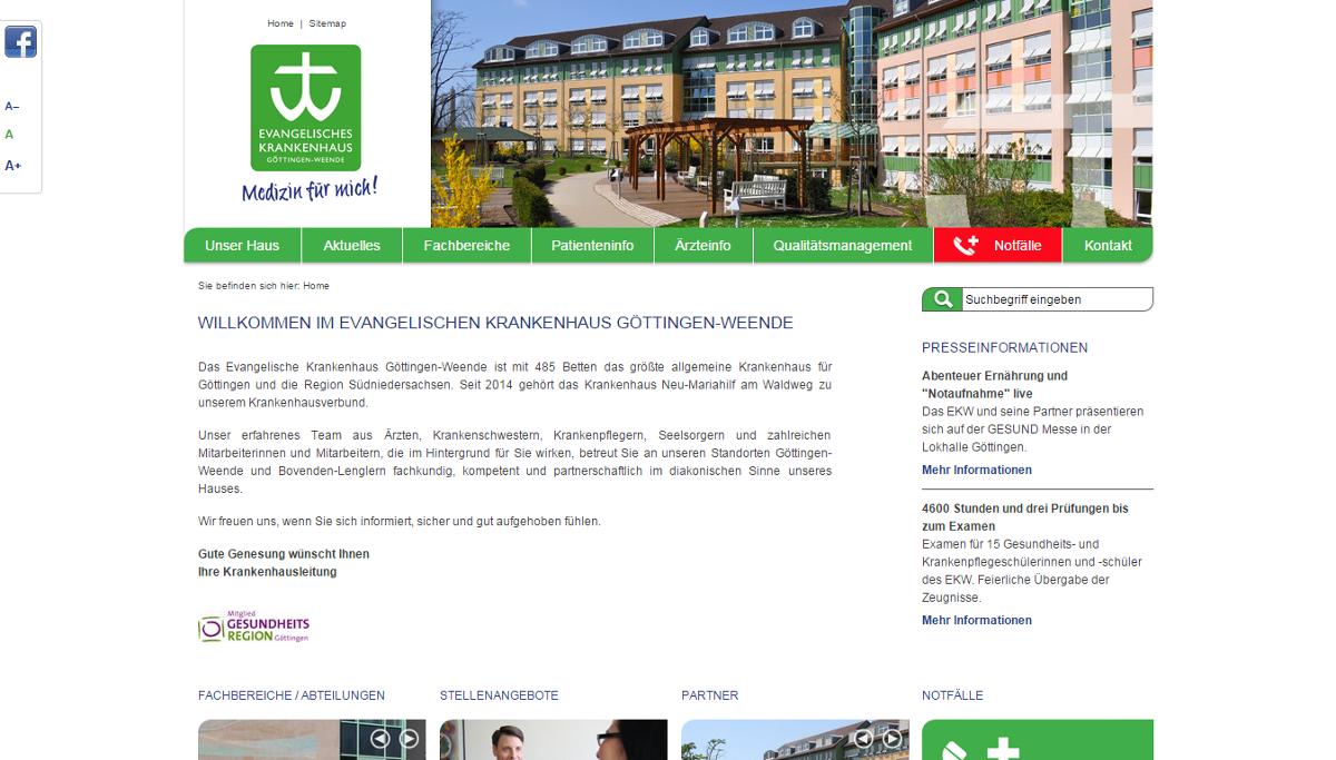 3. Platz: Evangelisches Krankenhaus Göttingen-Weende (172 Stimmen)