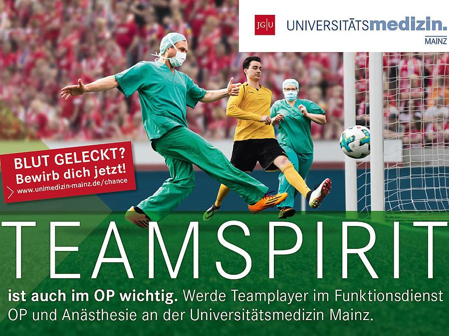 Kampagnen-Motiv der Universitätsmedizin Mainz